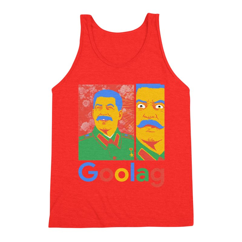 Stalin Goolag Men's Tank by yobann's Artist Shop