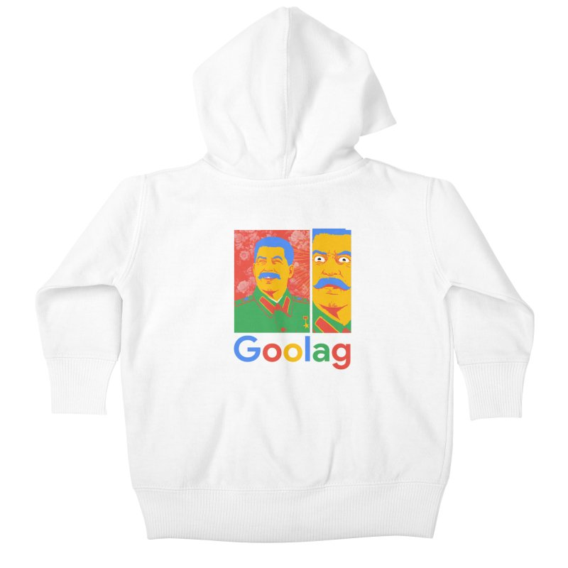 Stalin Goolag Kids Baby Zip-Up Hoody by yobann's Artist Shop