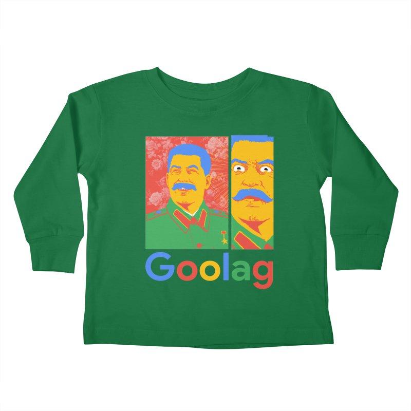 Stalin Goolag Kids Toddler Longsleeve T-Shirt by yobann's Artist Shop