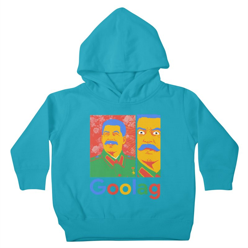 Stalin Goolag Kids Toddler Pullover Hoody by yobann's Artist Shop