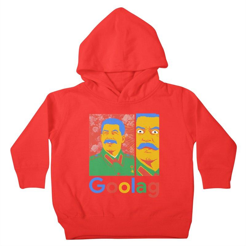 Stalin Goolag Kids Toddler Pullover Hoody by yobann's Artist Shop