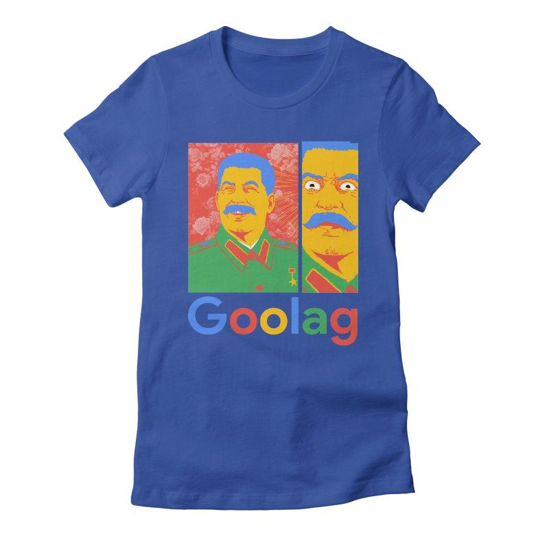 Stalin Goolag Women's Fitted T-Shirt by yobann's Artist Shop
