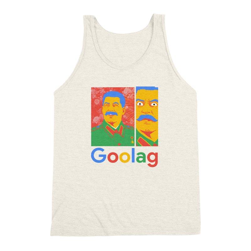Stalin Goolag Men's Triblend Tank by yobann's Artist Shop