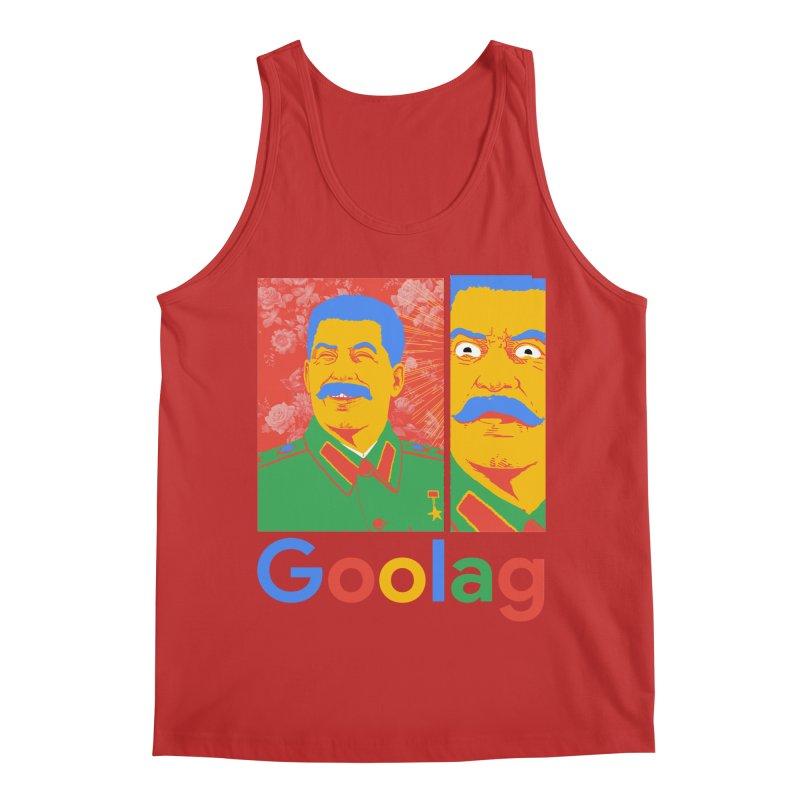 Stalin Goolag Men's Regular Tank by yobann's Artist Shop