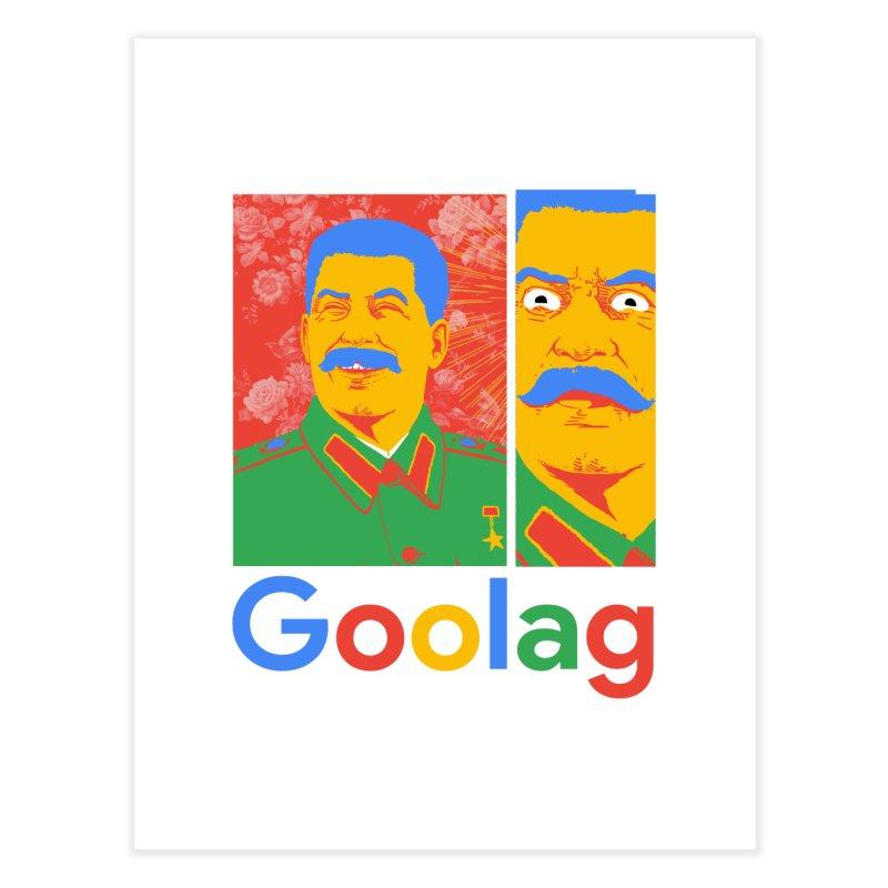 Stalin Goolag Home Fine Art Print by yobann's Artist Shop