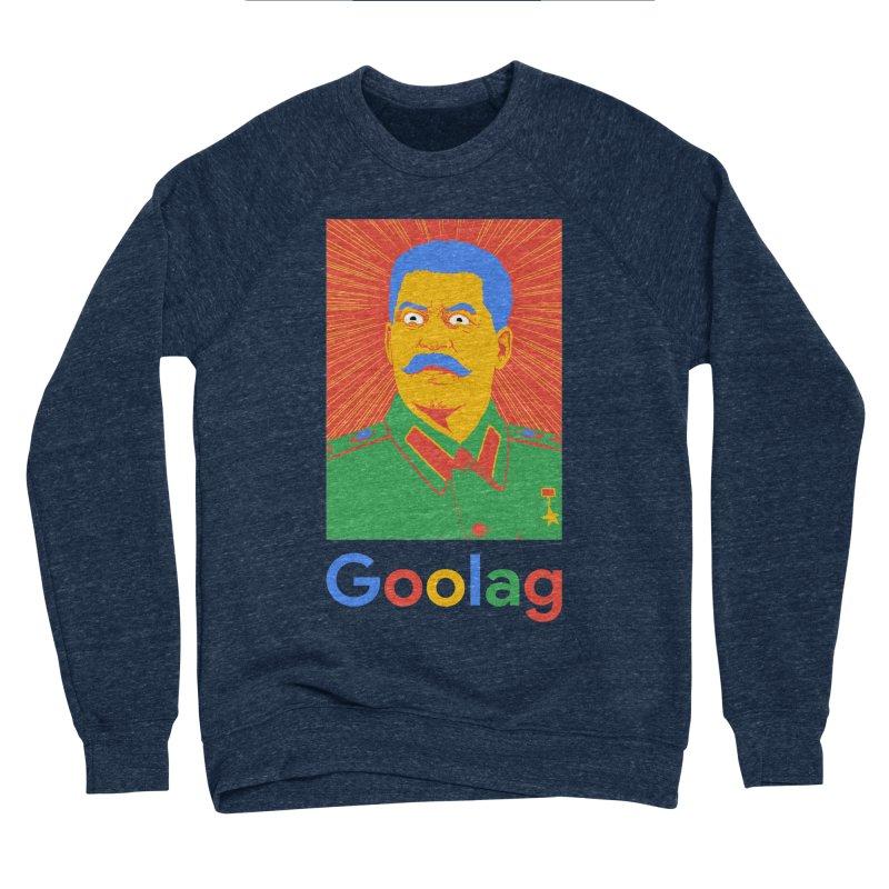 Stalin Goolag Men's Sponge Fleece Sweatshirt by yobann's Artist Shop