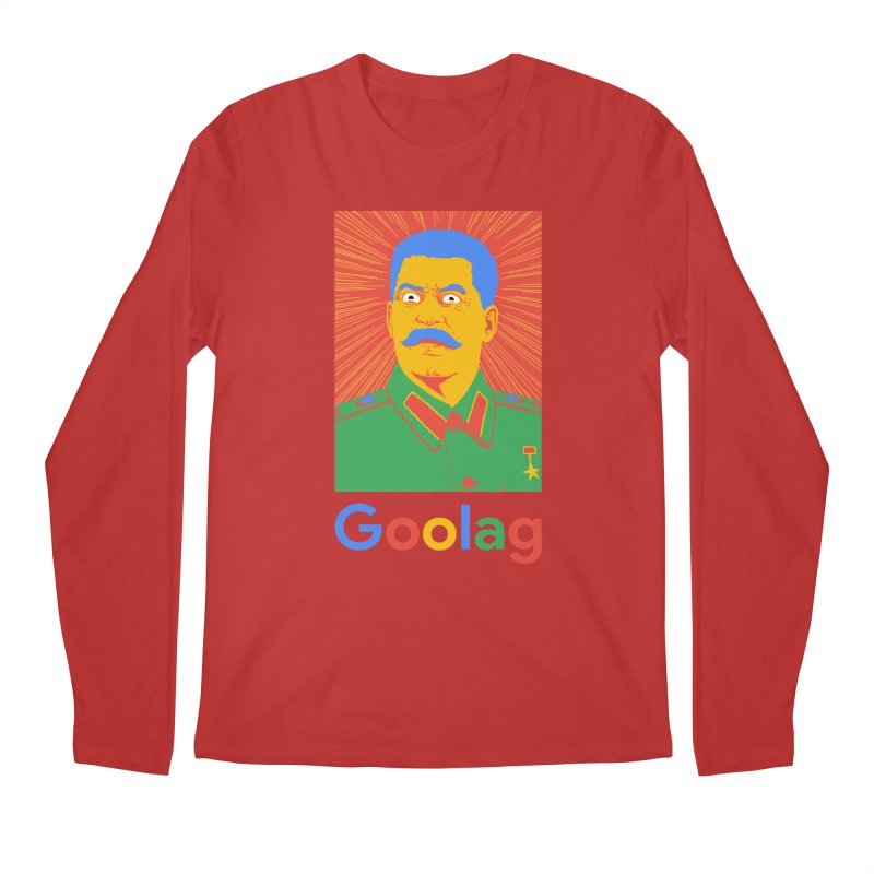 Stalin Goolag Men's Longsleeve T-Shirt by yobann's Artist Shop