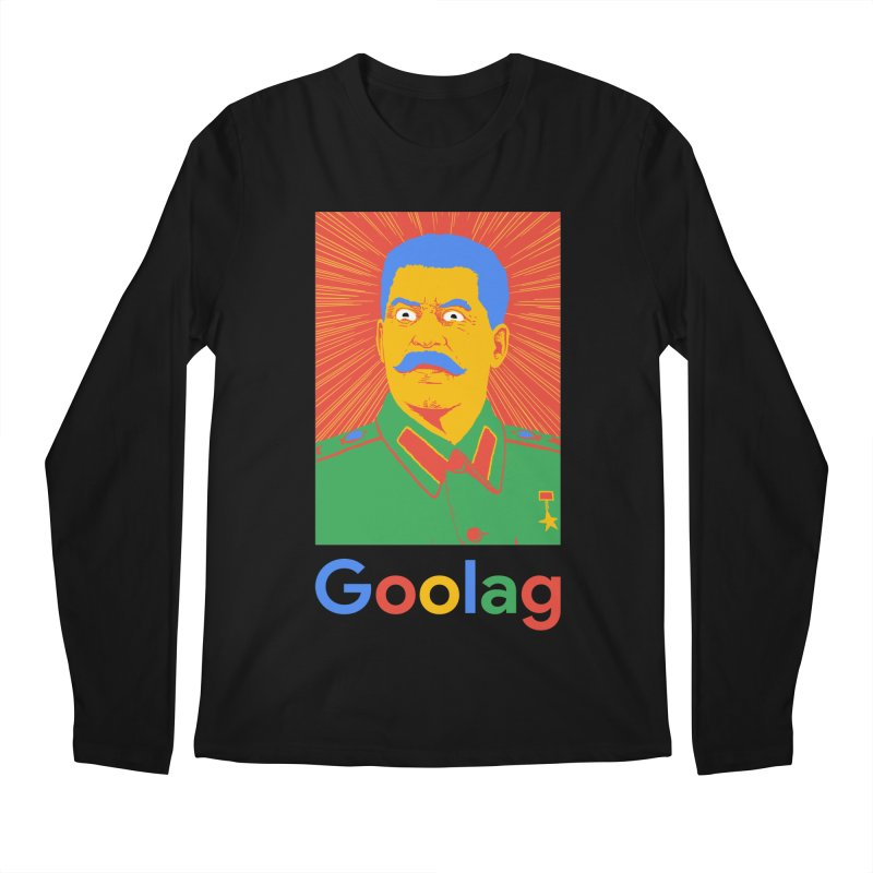Stalin Goolag Men's Longsleeve T-Shirt by yobann's Artist Shop