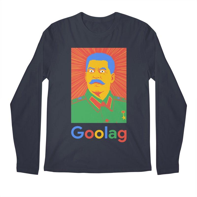 Stalin Goolag Men's Regular Longsleeve T-Shirt by yobann's Artist Shop