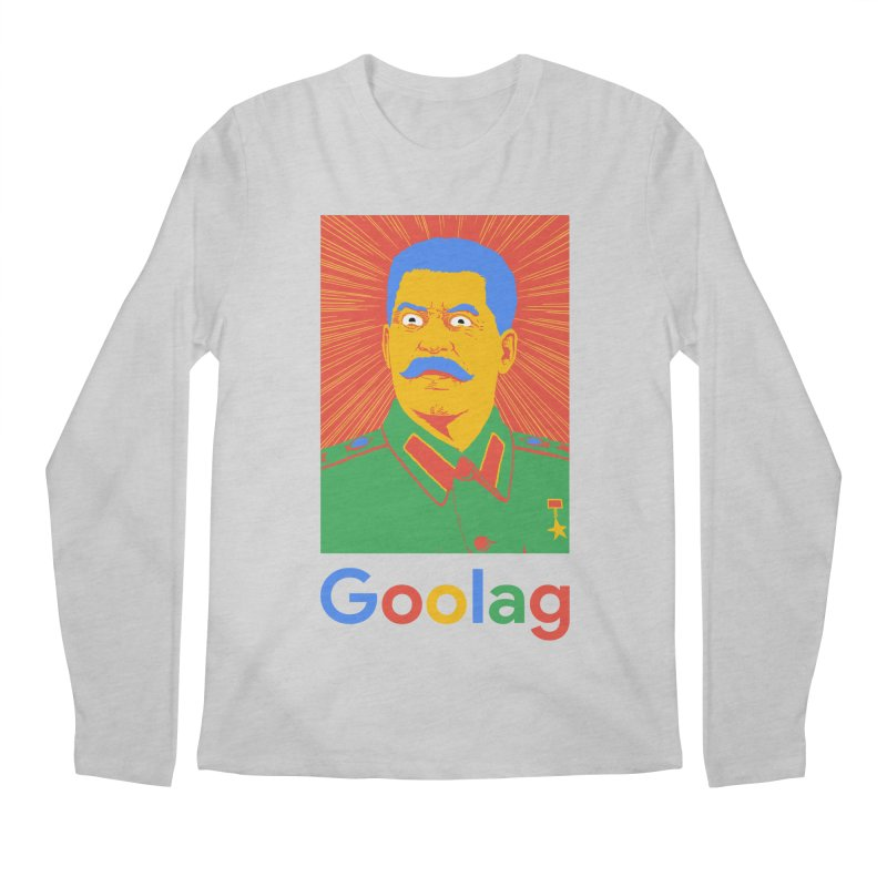 Stalin Goolag Men's Regular Longsleeve T-Shirt by yobann's Artist Shop