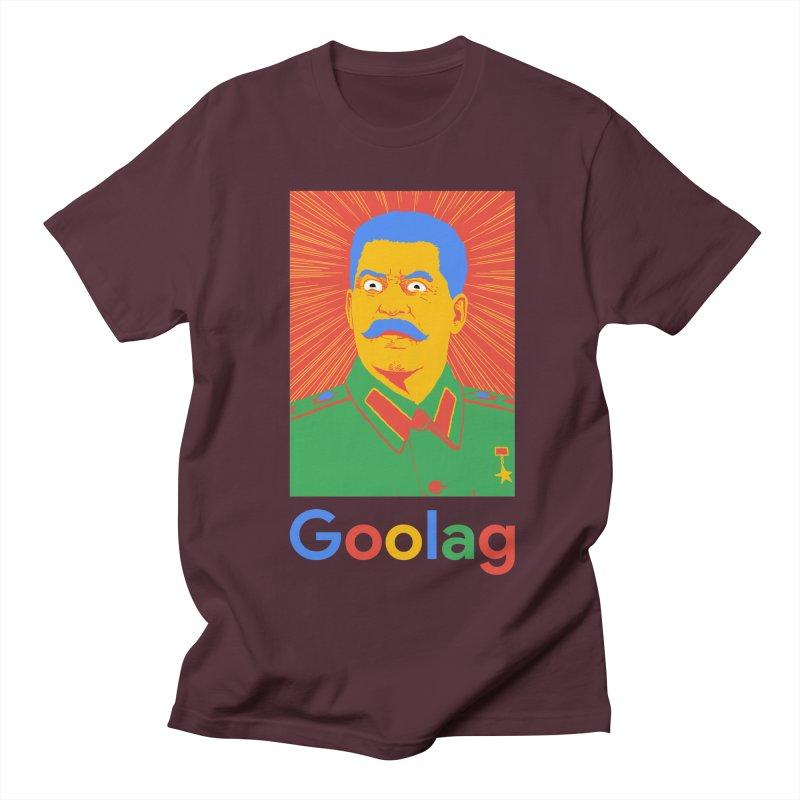 Stalin Goolag Men's Regular T-Shirt by yobann's Artist Shop