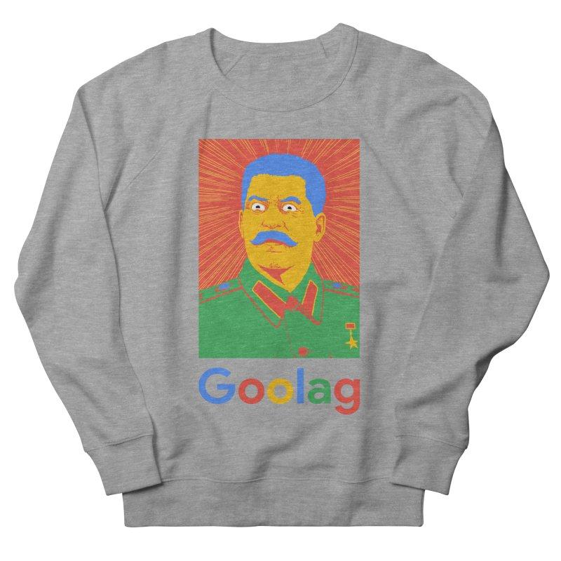 Stalin Goolag Men's French Terry Sweatshirt by yobann's Artist Shop