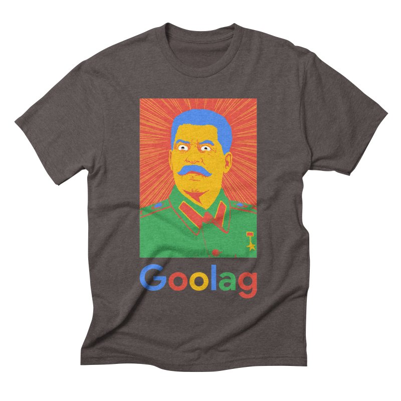 Stalin Goolag Men's Triblend T-Shirt by yobann's Artist Shop