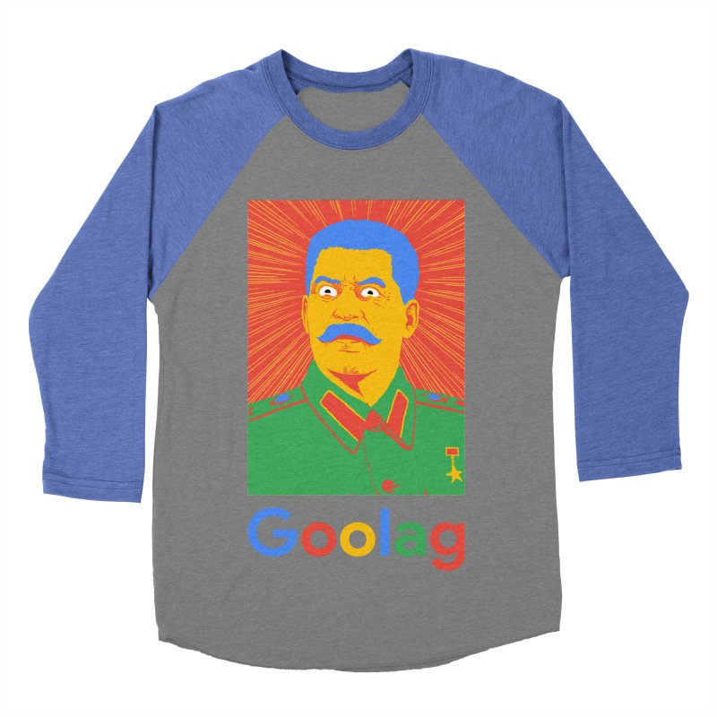 Stalin Goolag Men's Baseball Triblend Longsleeve T-Shirt by yobann's Artist Shop