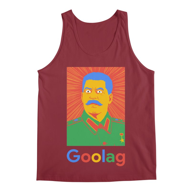 Stalin Goolag Men's Tank by yobann's Artist Shop