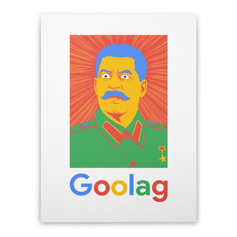 Stalin Goolag Home Stretched Canvas by yobann's Artist Shop
