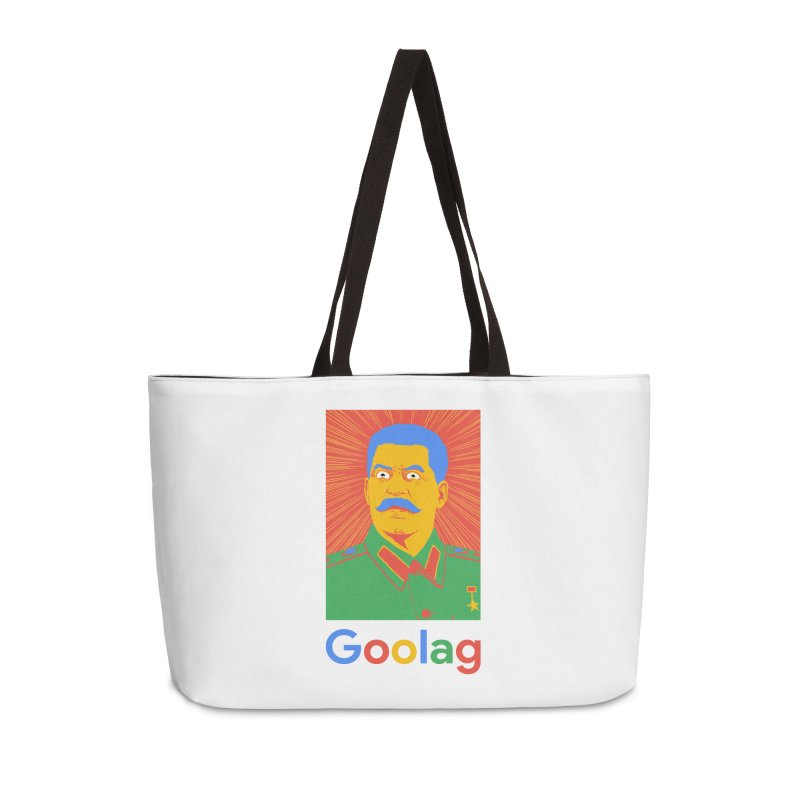 Stalin Goolag Accessories Weekender Bag Bag by yobann's Artist Shop
