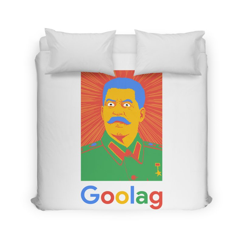 Stalin Goolag Home Duvet by yobann's Artist Shop