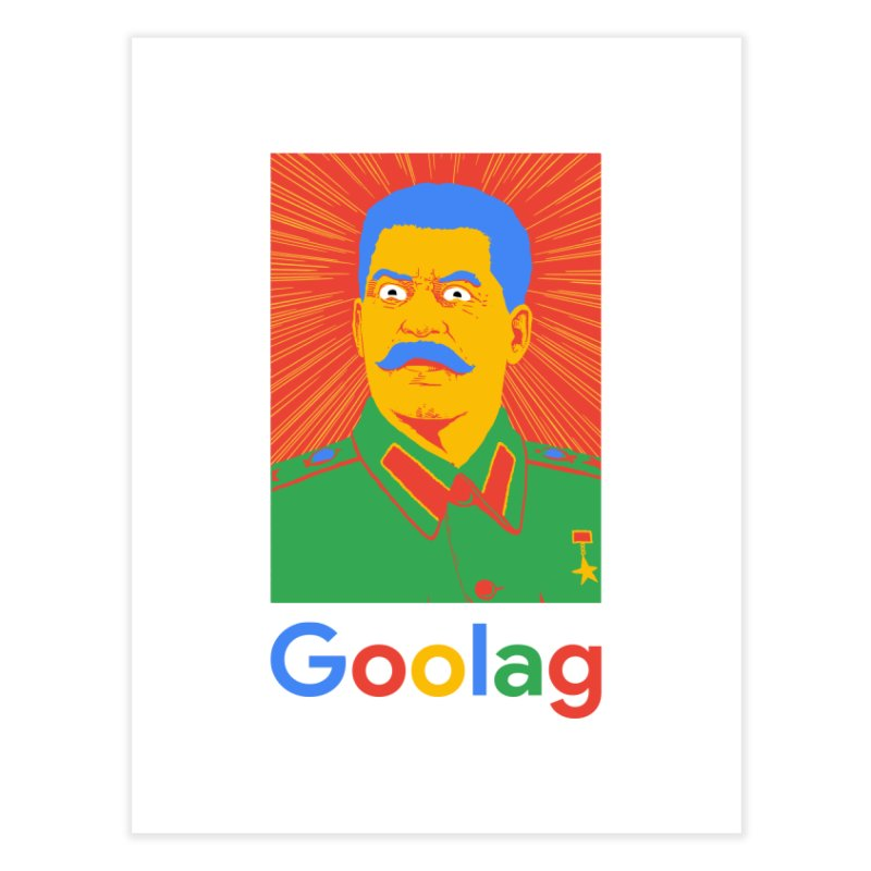Stalin Goolag Home Fine Art Print by yobann's Artist Shop