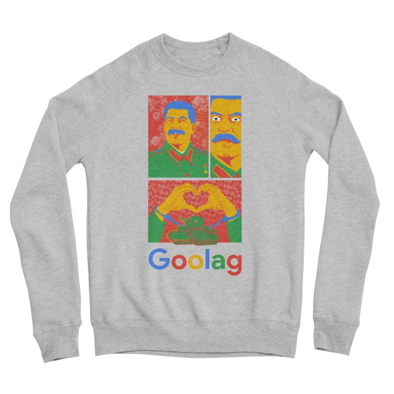 Stalin Goolag Men's Sponge Fleece Sweatshirt by yobann's Artist Shop