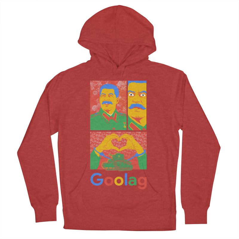 Stalin Goolag Women's French Terry Pullover Hoody by yobann's Artist Shop