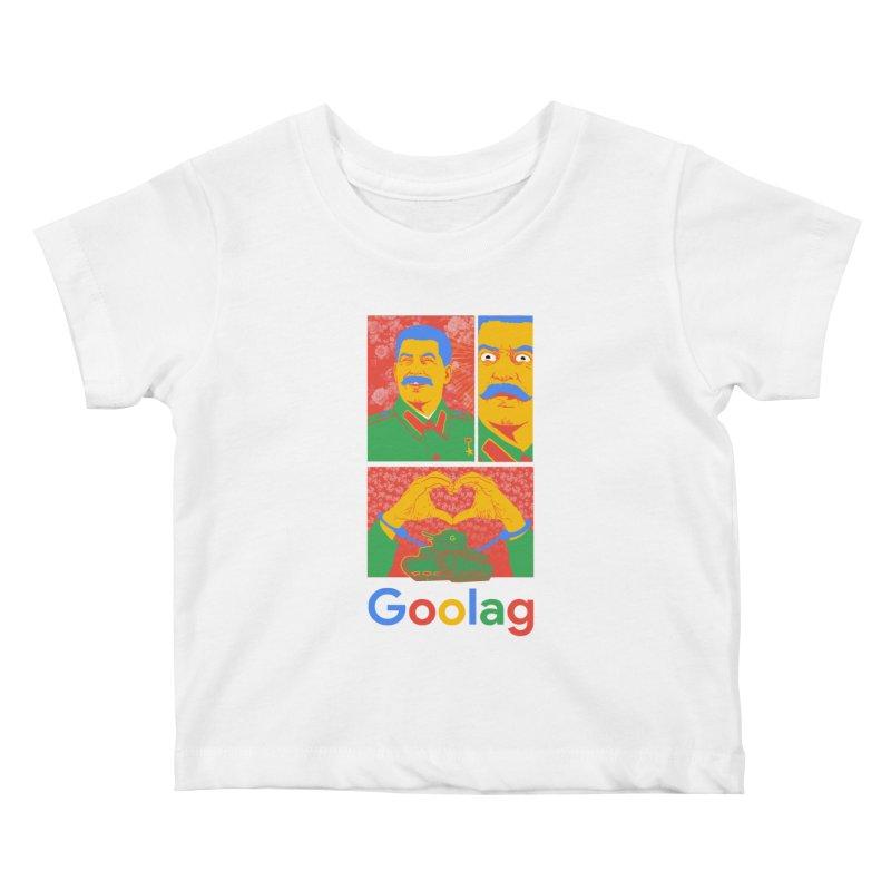 Stalin Goolag Kids Baby T-Shirt by yobann's Artist Shop