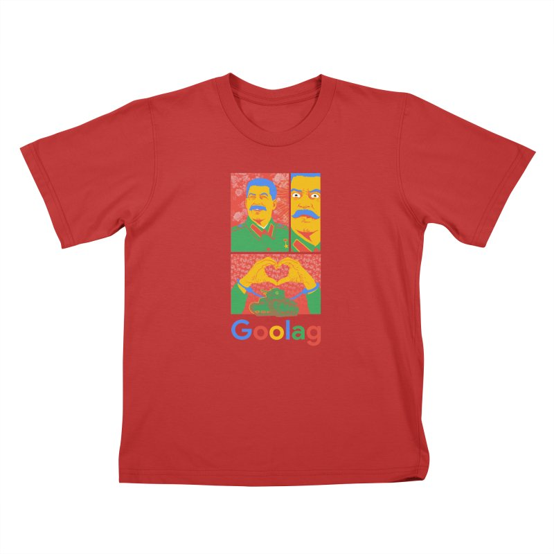 Stalin Goolag Kids T-Shirt by yobann's Artist Shop