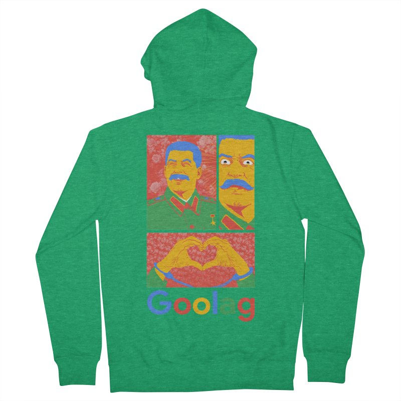 Stalin Goolag Men's Zip-Up Hoody by yobann's Artist Shop