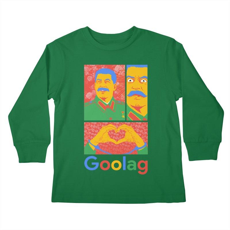 Stalin Goolag Kids Longsleeve T-Shirt by yobann's Artist Shop