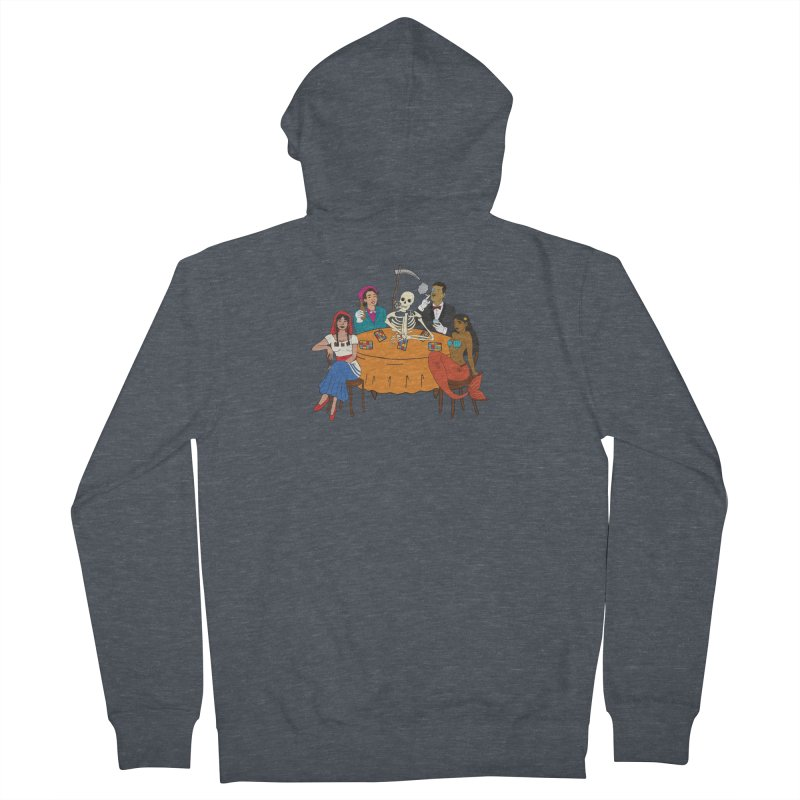 Loteria Party Men's French Terry Zip-Up Hoody by yocelynriojas's Artist Shop