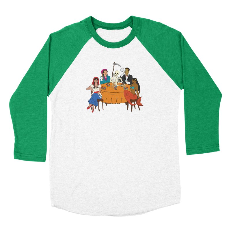 Loteria Party Women's Baseball Triblend Longsleeve T-Shirt by yocelynriojas's Artist Shop