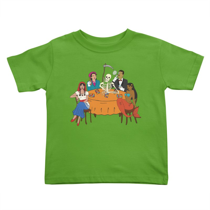 Loteria Party Kids Toddler T-Shirt by yocelynriojas's Artist Shop
