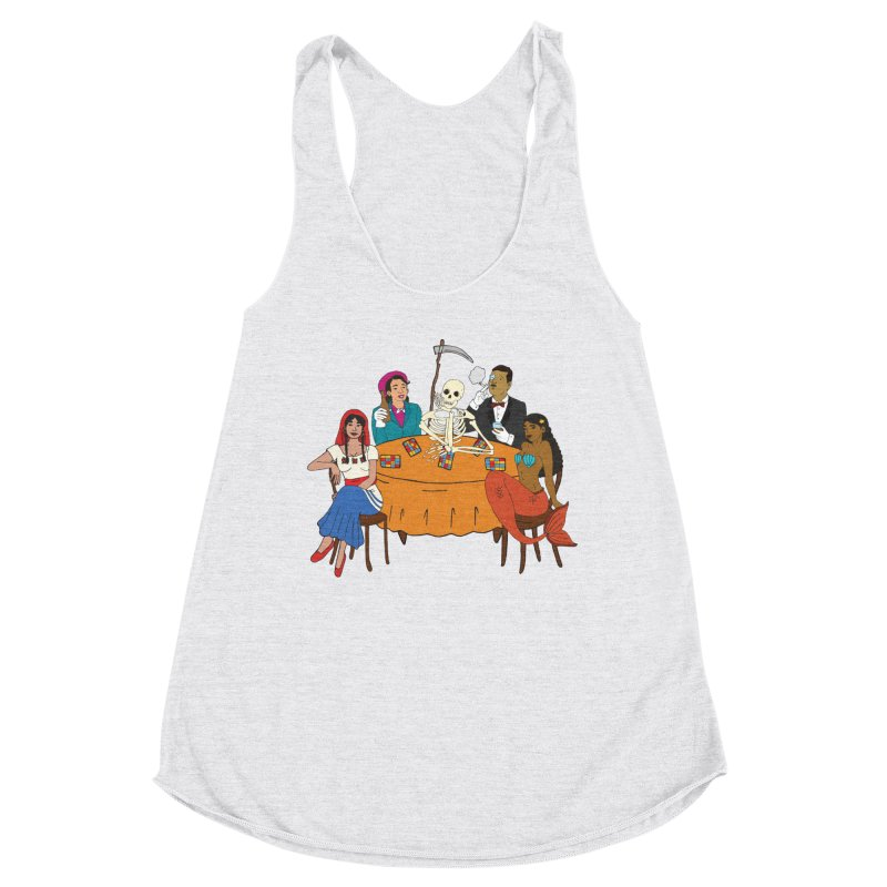 Loteria Party Women's Racerback Triblend Tank by yocelynriojas's Artist Shop