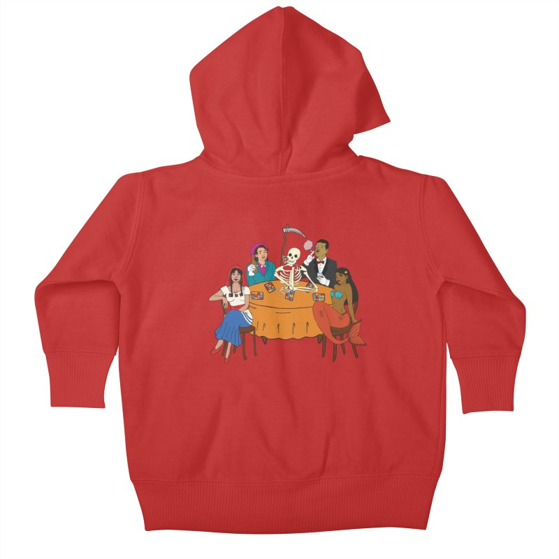 Loteria Party Kids Baby Zip-Up Hoody by yocelynriojas's Artist Shop