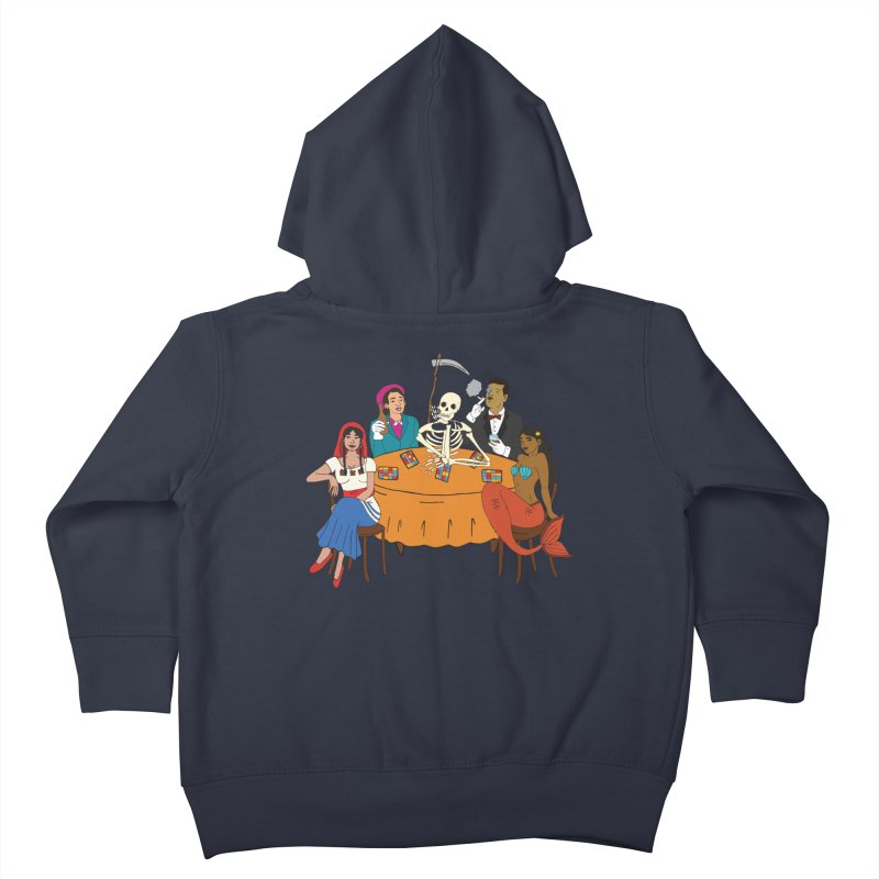 Loteria Party Kids Toddler Zip-Up Hoody by yocelynriojas's Artist Shop