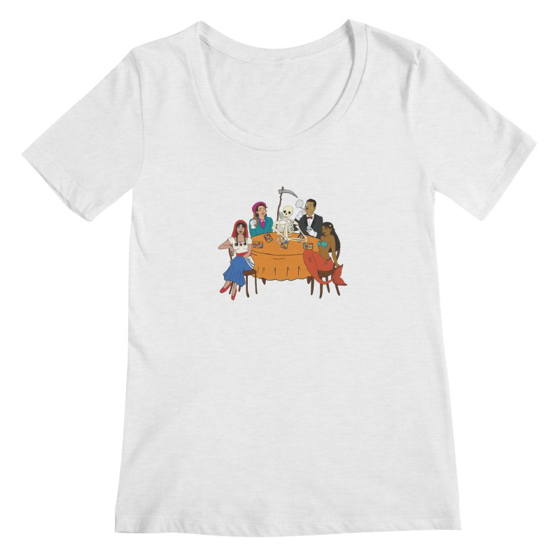 Loteria Party Women's Regular Scoop Neck by yocelynriojas's Artist Shop