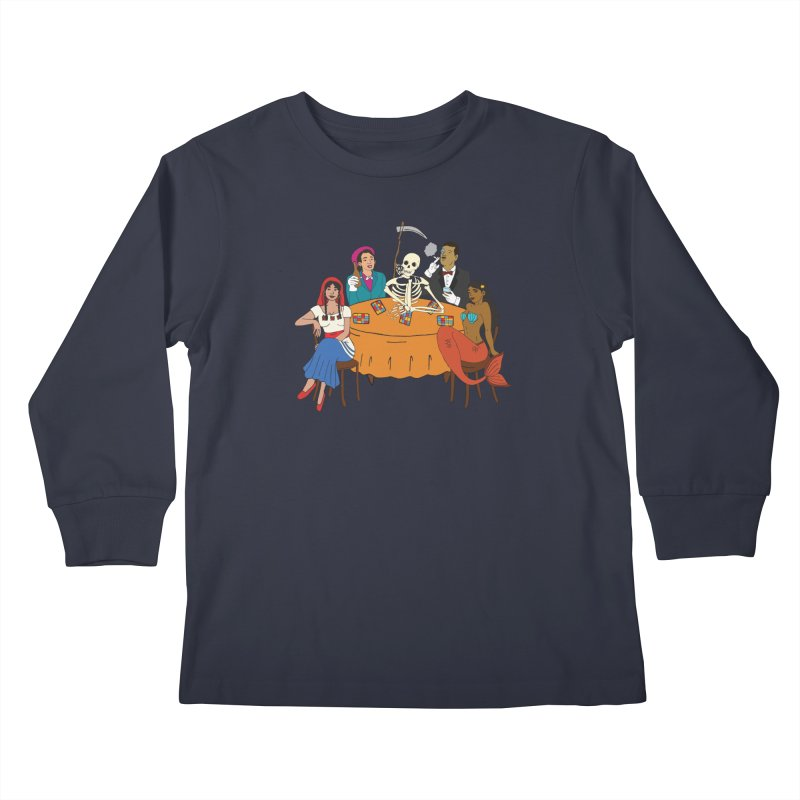 Loteria Party Kids Longsleeve T-Shirt by yocelynriojas's Artist Shop