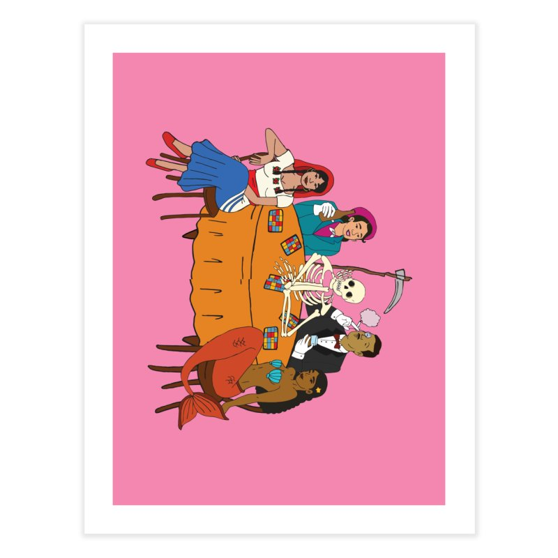 Loteria Party Home Fine Art Print by yocelynriojas's Artist Shop