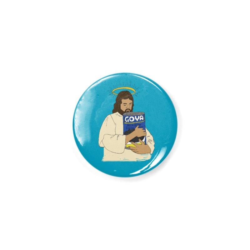 Jesus con Goya Accessories Button by yocelynriojas's Artist Shop