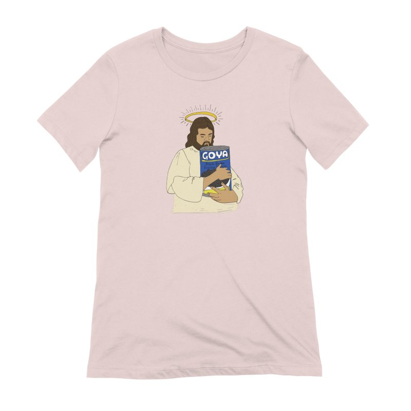 Jesus con Goya Women's Extra Soft T-Shirt by yocelynriojas's Artist Shop