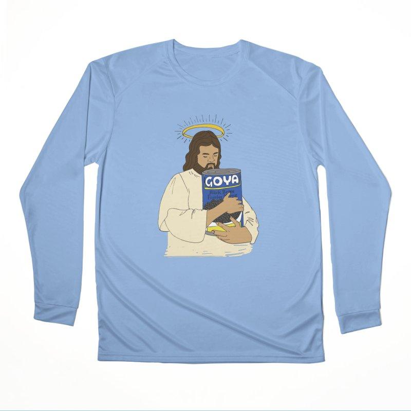 Jesus con Goya Men's Longsleeve T-Shirt by yocelynriojas's Artist Shop