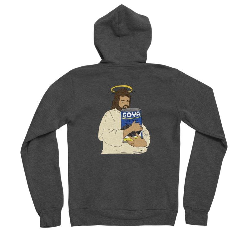 Jesus con Goya Men's Zip-Up Hoody by yocelynriojas's Artist Shop