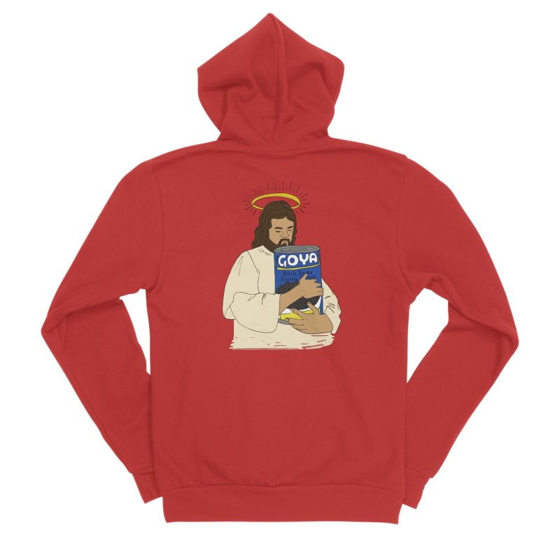 Jesus con Goya Men's Zip-Up Hoody by yocelynriojas's Artist Shop
