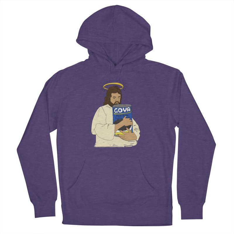 Jesus con Goya Men's French Terry Pullover Hoody by yocelynriojas's Artist Shop
