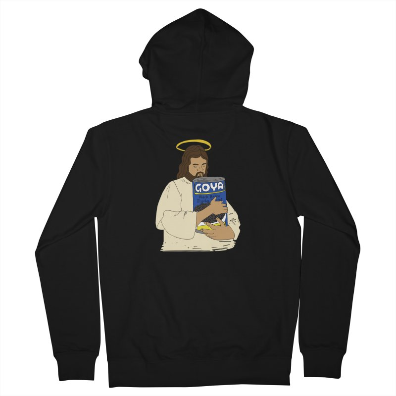 Jesus con Goya Women's French Terry Zip-Up Hoody by yocelynriojas's Artist Shop
