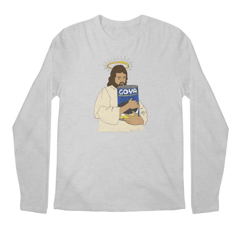 Jesus con Goya Men's Regular Longsleeve T-Shirt by yocelynriojas's Artist Shop