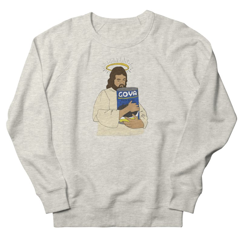 Jesus con Goya Men's French Terry Sweatshirt by yocelynriojas's Artist Shop