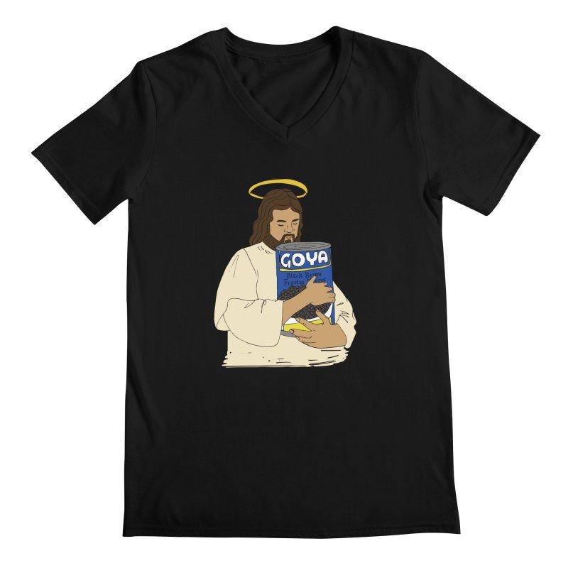 Jesus con Goya Men's V-Neck by yocelynriojas's Artist Shop