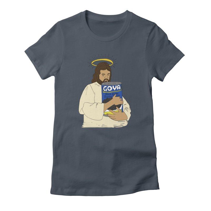 Jesus con Goya Women's T-Shirt by yocelynriojas's Artist Shop