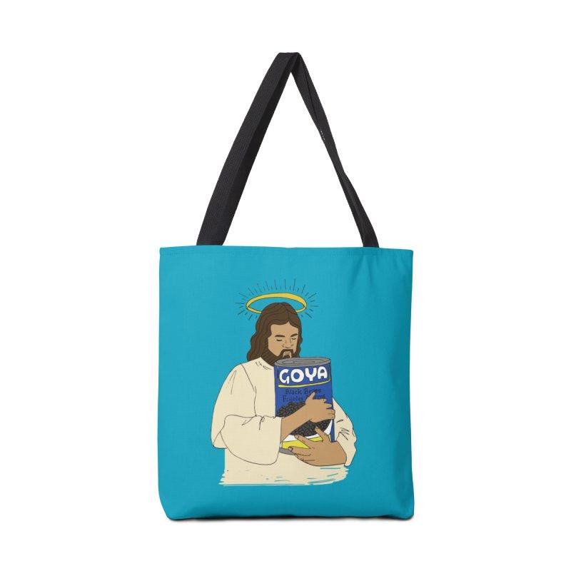 Jesus con Goya Accessories Bag by yocelynriojas's Artist Shop